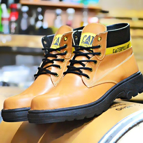 Foto Produk GRATIS DARI TOKOPEDIA SEPATU PRIA TRACKING BOOTS SAFETY CATERPILLAR - Cokelat Muda, 43 dari Bandungpro Store