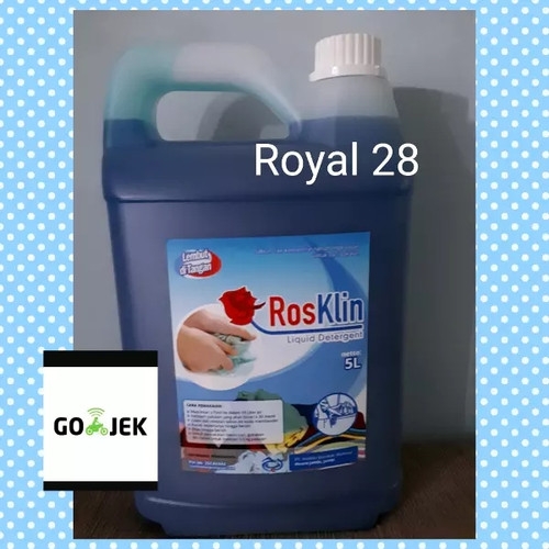 Foto Produk Detergen cair premium (Laundry) kemasan jerigen 5 liter dari Royal 28