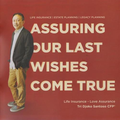 Foto Produk Bundle Buku Assuring Our Last Wishes Come True. 10pcs/bundle. dari Financial Planning Shop