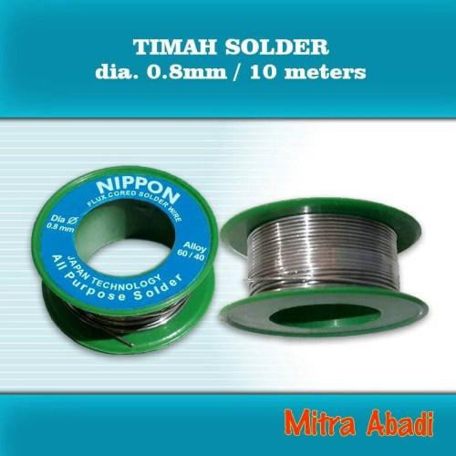 Foto Produk Timah Solder Diameter 0,8 mm Panjang 10 meter dari Toko Mitra Abadi