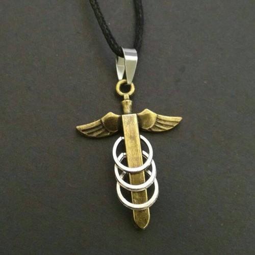 Foto Produk Kalung Wing Sword Gold 10675. dari DHV store
