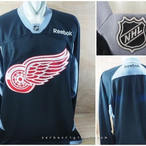 Foto Produk Jersey Hockey NHL Red Wings Training Original - Black dari Serba Original