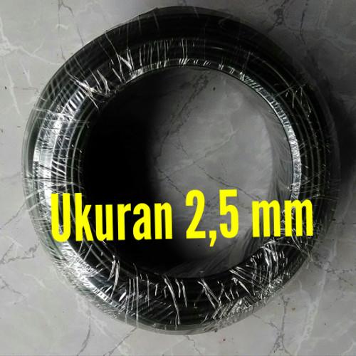 Foto Produk Kawat Bonsai Hitam - Ukuran 2,5 mm dari Mboh Sopo