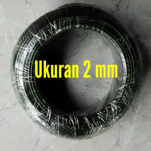 Foto Produk Kawat Bonsai Hitam - Ukuran 2 mm dari Mboh Sopo