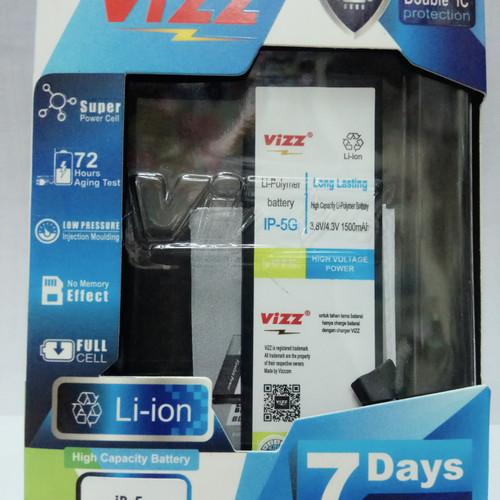 Foto Produk baterai batt battery batre double power vizz iphone 5 5g dari nagajaya123