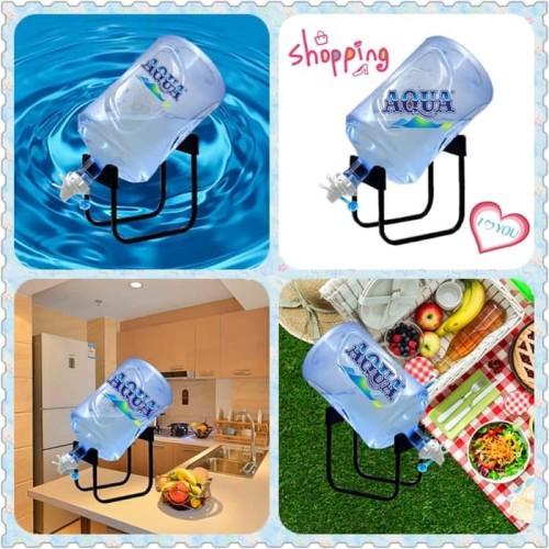Foto Produk rak galon/Dudukan/Kaki/Bracket/Dispenser/Tatakan/Tempat Galon Aqua dari Fioren Shop