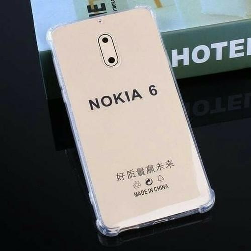 Foto Produk Nokia 6 - Jelly Case Transparan Softcase Anti Crack dari bms acc