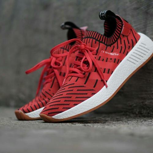 Foto Produk Sepatu Adidas NMD R2 X Japan Red Size 40-44 Sneakers pria terbaru dari Side Sport