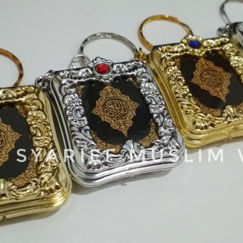 Foto Produk Ganci Mushaf Al Quran Mini   Oleh-oleh Haji Umrah/Souvenir Pernikahan dari Syarief Muslim Wear