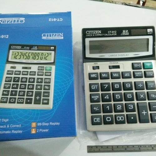 Foto Produk kalkulator citizen CT 912 besar dari toko:Harapan baru
