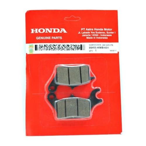 Foto Produk Kampas Rem Disk Cakram Depan Blade & Supra X 125 FI (06455KWB601) dari Honda Cengkareng