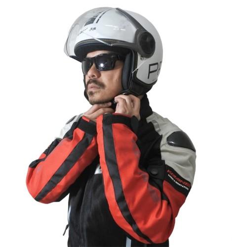 Foto Produk Cargloss YR Protect Helm Half Face - Sp. Whity White - Putih, M dari Helm Cargloss