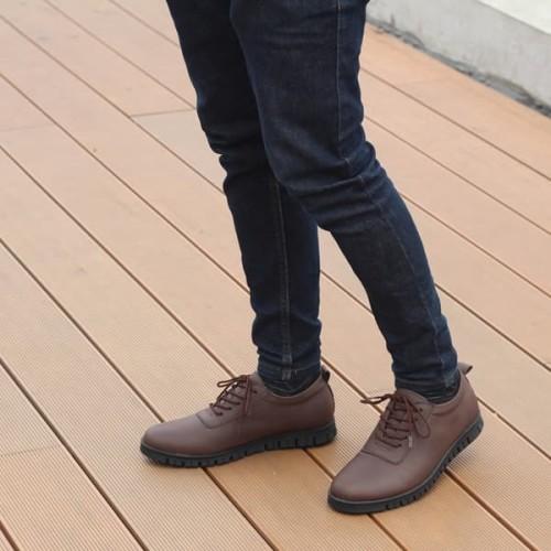 Foto Produk Sepatu Pria Brave Brown (Sol Nicaneo Bergerigi) dari Bokangco Store