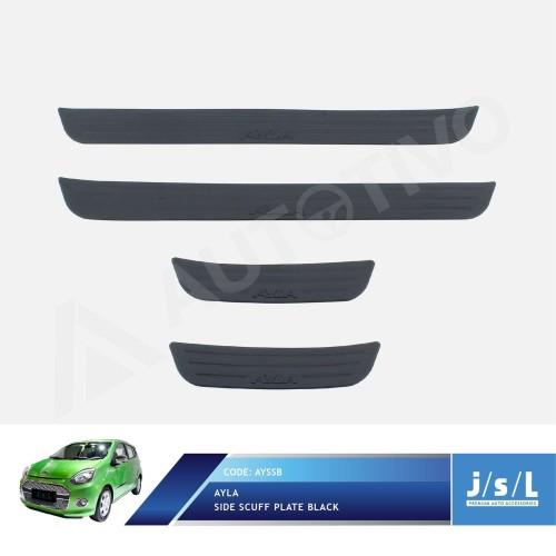Foto Produk Daihatsu Ayla Side Scuff Plate Black / Sillplate Samping Hitam JSL dari Autotivo