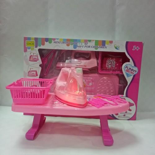 Foto Produk mainan anak perempuan /mainan setrikaan / mini iron - Tanpa Baterai dari OB (ORANGE BLUE) toys