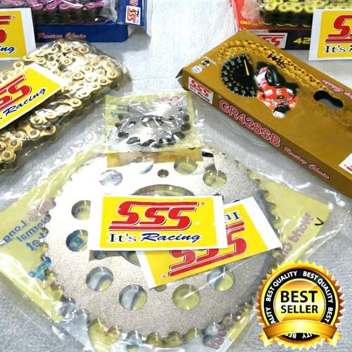Foto Produk Gear set SSS CB150R / CBR150R / Megapro / Verza Termurah dari Central Motorsport Jaya