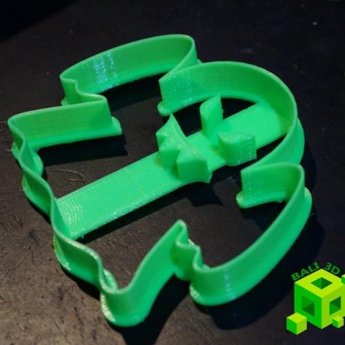 Foto Produk Ghost Cookie Cutter dari Bali 3D