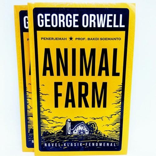 Foto Produk ANIMAL FARM (ORI) -GEORGE ORWELL- dari Buku Sosial