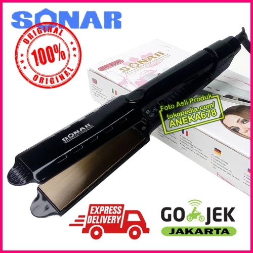 Foto Produk SONAR SN 8099 LURUS ALAT CATOK RAMBUT PLAT CATOKAN EXTRA LEBAR SN8099 dari ANEKA 678