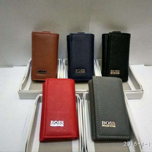 Foto Produk dompet stnk gantungan kunci motor dan mobil logo Huco boos dari jhone shoop