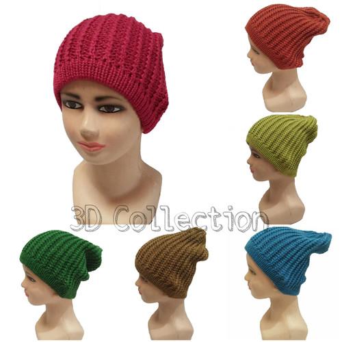 Foto Produk Topi Kupluk Rajut Anak Motif Kepang dari 3D_Collection