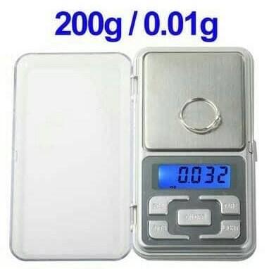 Foto Produk Timbangan emas digital 200Gx0.01G / Emas / Perhiasan / Digital scale dari Mix acc88