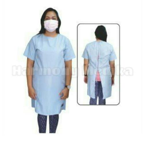 Foto Produk Baju Pasien/ Baju Operasi/ Baju Rumah Sakit Murah Bahan Bagus - PINK MUDA dari Harmony Medika