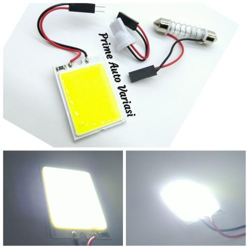 Foto Produk LED Lampu Kabin Plafon COB Plasma 24 Mata 36mm x 26mm - White dari Prime Auto Variasi