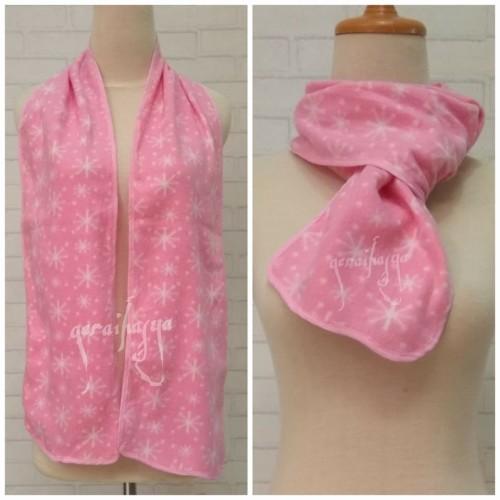 Foto Produk syal shawl scarf pink winter u pria wanita anak laki perempuan #293 dari Gerai Hasya