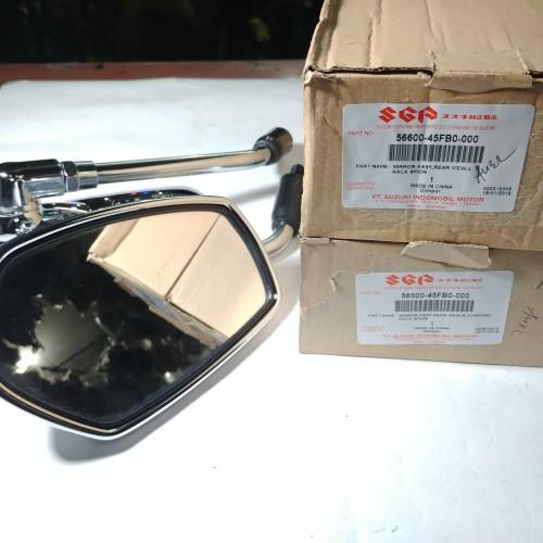 Foto Produk Kaca Spion Thunder 125 New Drat 14 Original Suzuki dari Lestari Motor 2