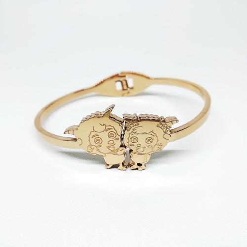Foto Produk Gelang Emas Wanita Zodiak Capricorn / Bangle / Cuff dari All the Things I Need