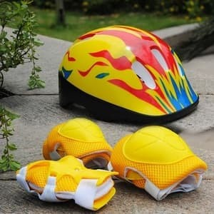 Foto Produk helm sepeda/sepatu roda anak lengkap dari unissouvenir