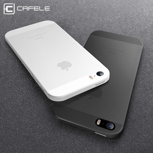 Foto Produk CAFELE Ultra Thin Case - Case iPhone 5s 5 SE ORIGINAL - Hitam dari Cafele Official Store
