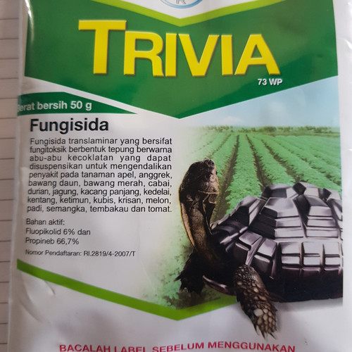 Foto Produk TRIVIA 73WP 50gr fungisida/obat tanaman/obat jamur dari LB MURNI AGROINDO