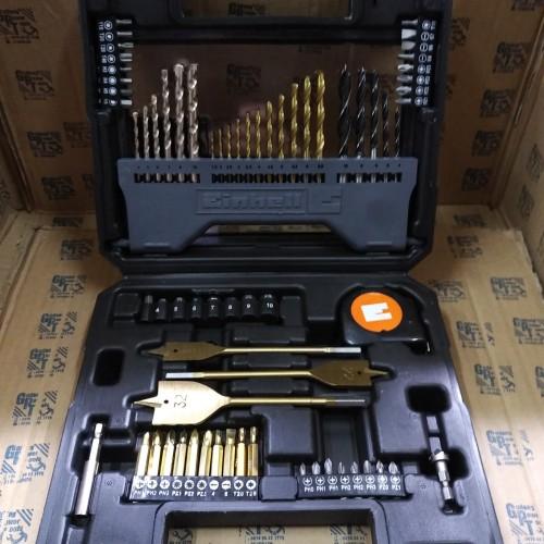 Foto Produk Mata Bor Besi Kayu Beton Obeng Soket Sokbit Set 70pc dari GudangPowerTools