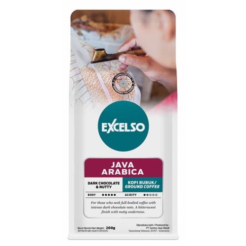 Foto Produk Excelso Java Arabica Coffee 200 gram - Ground / Bubuk dari Kapal Api Store