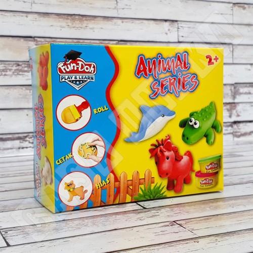 Foto Produk Fun Doh Animal Series - Lilin Mainan Anak FunDoh / PlayDoh / Play Doh dari Casa Unika