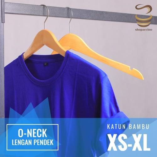 Foto Produk Kaos Polos Katun Bambu (Cotton Bamboo) dari shopaccino