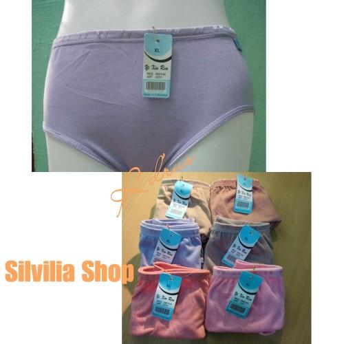 Foto Produk Ladies Underwear /Celana Dalam /CD Perempuan / Wanita / Cewek / Remaja - Biru Muda dari silvilia shop