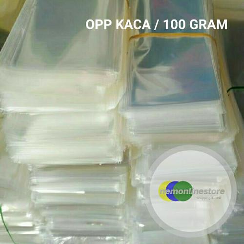 Foto Produk Plastik Kaca Opp Bening per 100gram dari NEMONLINESTORE