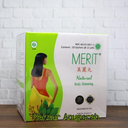 Foto Produk MERIT NATURAL BODY SLIMMING - PELANGSING TUBUH ALAMI dari Makmur Anugerah