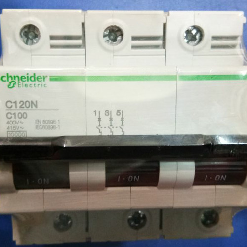 Foto Produk MCB 100A 3P C120N Schneider dari bintang-electric