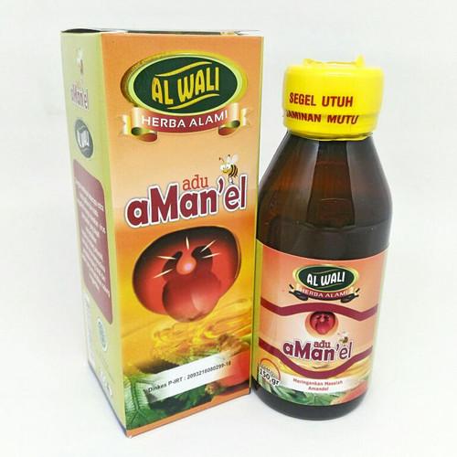 Foto Produk Madu Amandel / Radang Tenggorokan Al Waliy / Alwaliy dari Alif Herbal