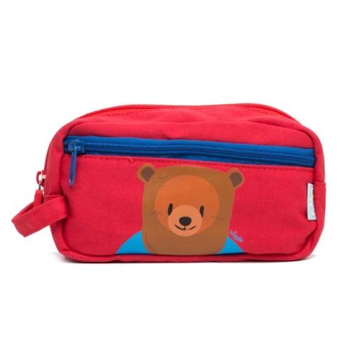 Foto Produk Wigglo Canvas Pencil Case Bear dari Wigglo Indonesia