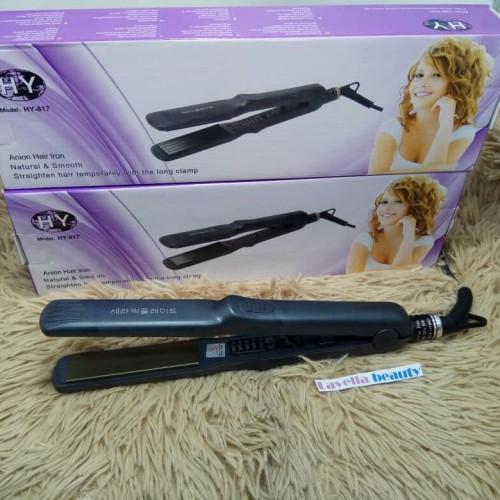 Foto Produk Catokan korea Anion Hair iron , catokan HY 817 , catokan 2in1, lamoode dari lavellabeautyshop