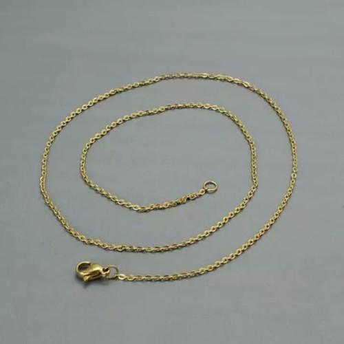Foto Produk Kalung Titanium Rante Medan Gold dari Putra Jepara Acc