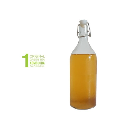 Foto Produk Vibre Kombucha 1L - Green Tea dari vibre_id