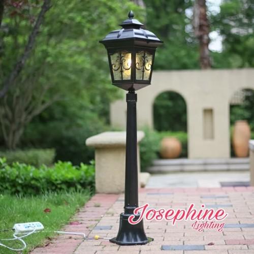 Jual Lampu Taman Tiang Outdoor Cabang 1 Seri 21 1 1 Meter Hitam Jakarta Timur Josephine Lighting Tokopedia