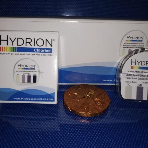 Foto Produk Hydrion CM-240, Chlorine Test Paper, range : 10-200 PPM dari ROSELINDOTAMA SAINTIFIK