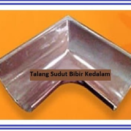Foto Produk Talang sudut / belokan talang air 1/2 lingkaran metal baja zincalume dari Atapzinctruss